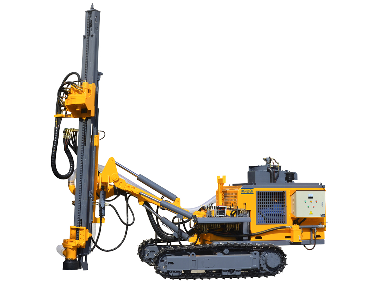 KAISHAN KG420S DTH drilling rig