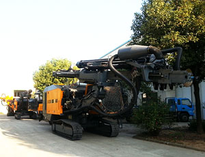 KT15 Integrated Surface DTH Drilling Rig