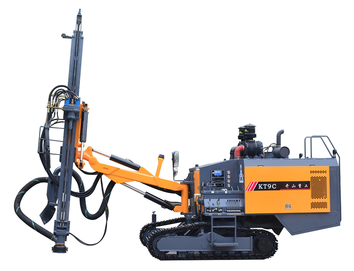 KT9C Integrated Surface DTH Drilling Rig