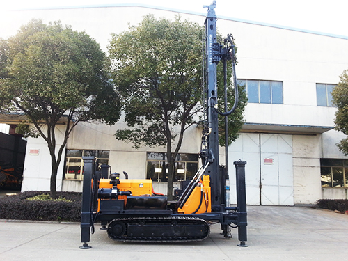 KW400/YCW400 Geothermal Water Well Crawler Drilling Rig,Full