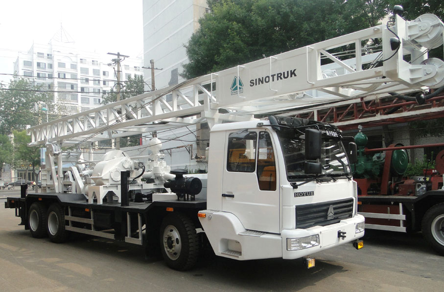 1500M Trailer Mounted Water Well Drilling Rig