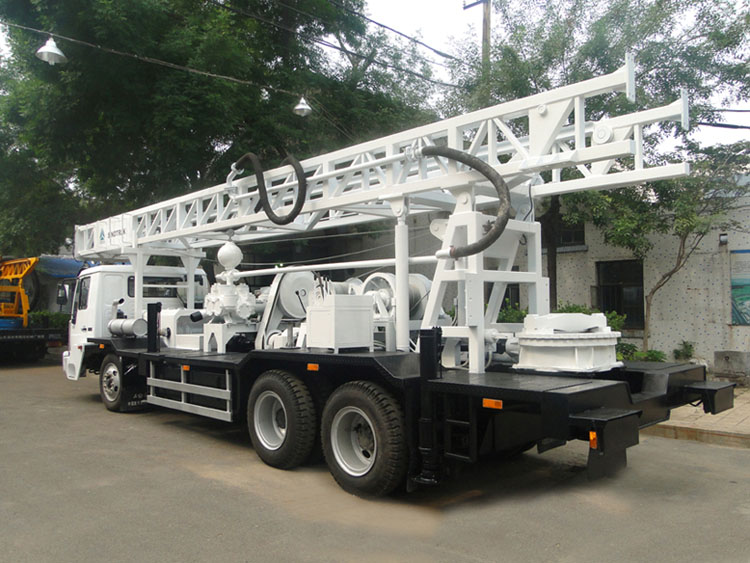 1500 Trailer Mounted Water Well Drilling Rig